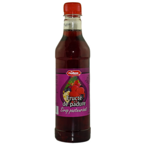 SIROP NATURAL FRUCTE DE PADURE 480ml (pasteurizat) ADVENTURE IMPORT-EXPORT