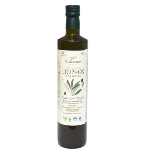 Ulei de masline extravirgin Liophos Early Harvest bio 750ml