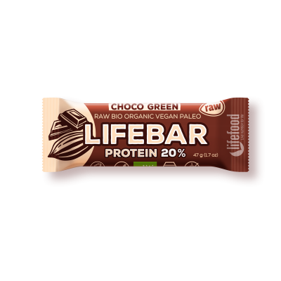 Lifebar baton cu smochine raw eco 47g
