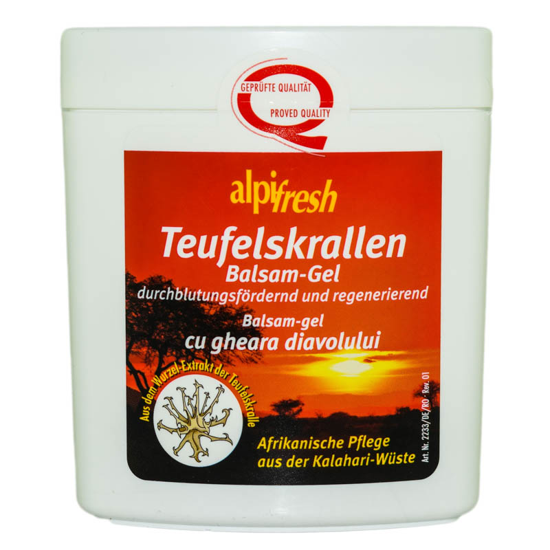 BALSAM GEL GHIARA DIAVOLULUI 250ml ALPIFRESH TRANSROM