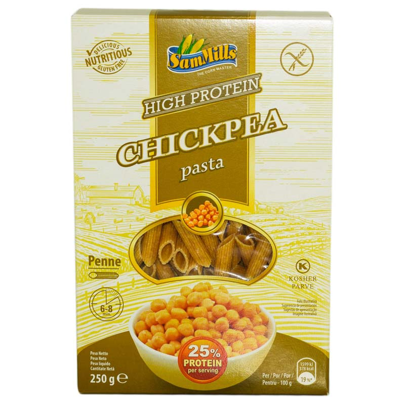 PASTE DIN NAUT F.G.&HIGH PROTEIN PENNE 250g DUO