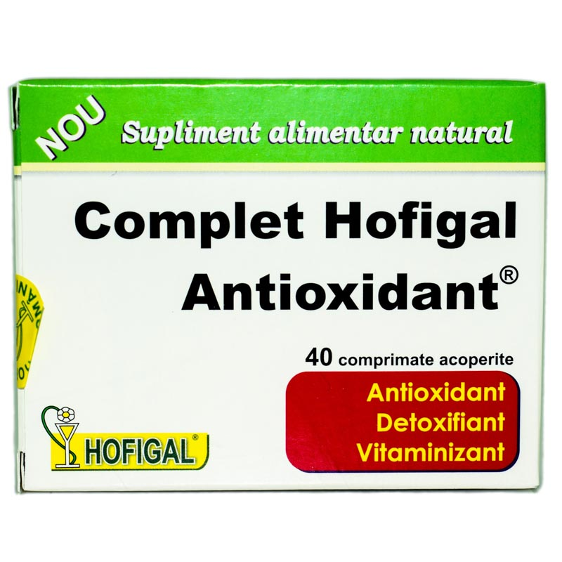 COMPLET ANTIOXIDANT 40cps HOFIGAL