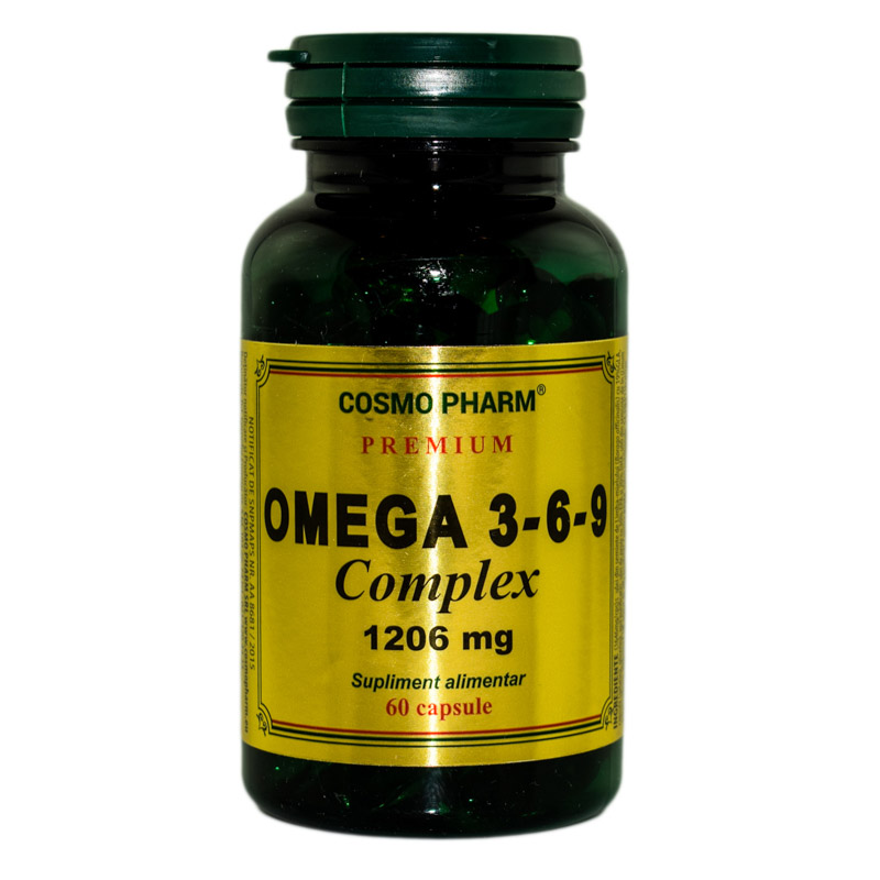 OMEGA 3*6*9 COMPLEX 1206mg PREMIUM 60cps COSMOPHARM