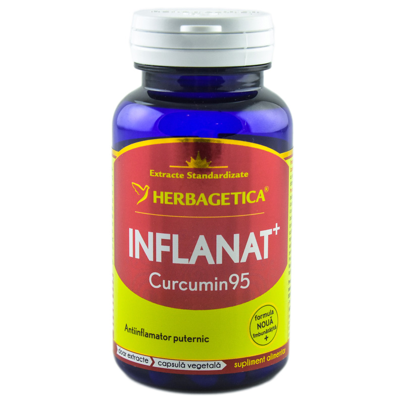 INFLANAT+ CURCUMIN'95 60cps HERBAGETICA