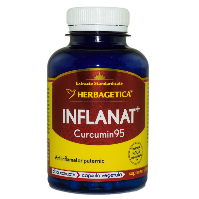 INFLANAT+ CURCUMIN'95 120cps HERBAGETICA