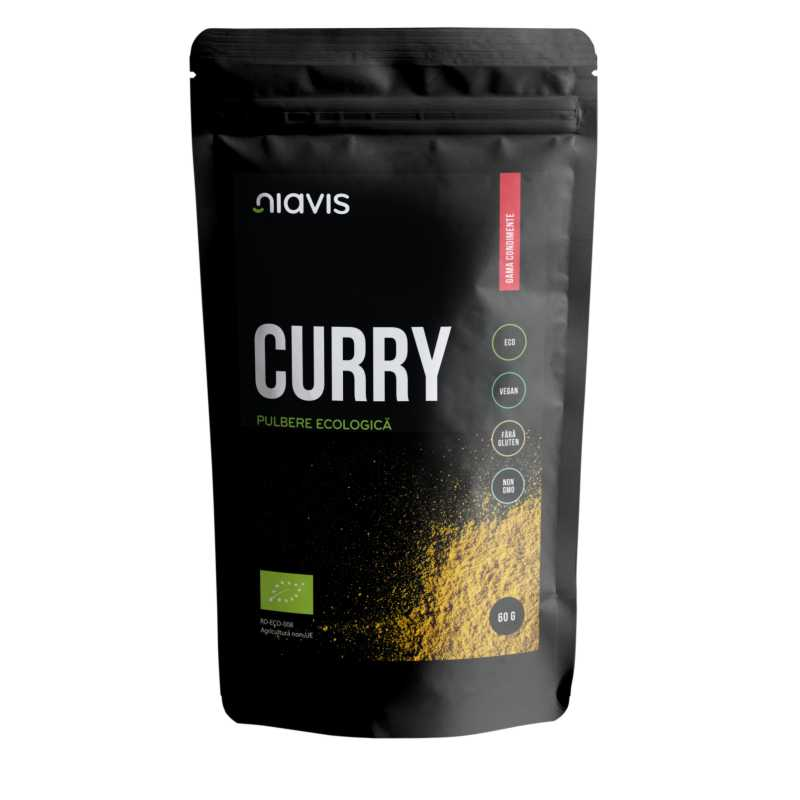 Curry Pulbere Ecologica/BIO 60g