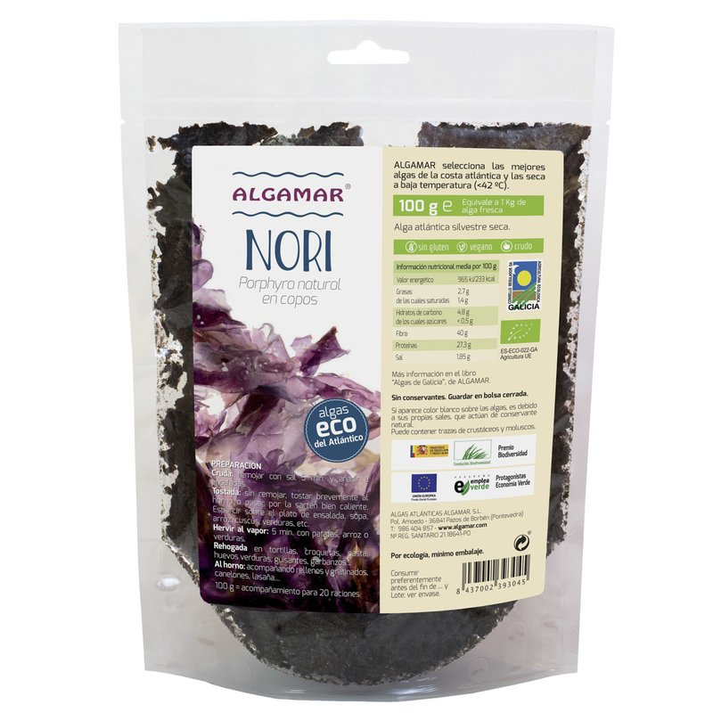 Nori flakes eco 100g