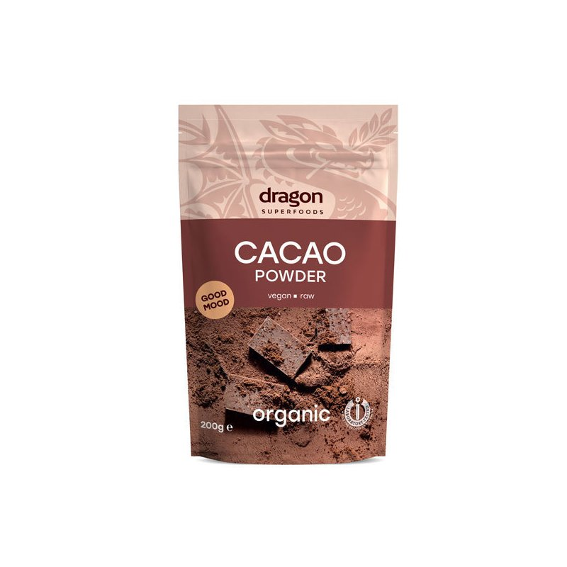 Cacao pudra raw eco 200g