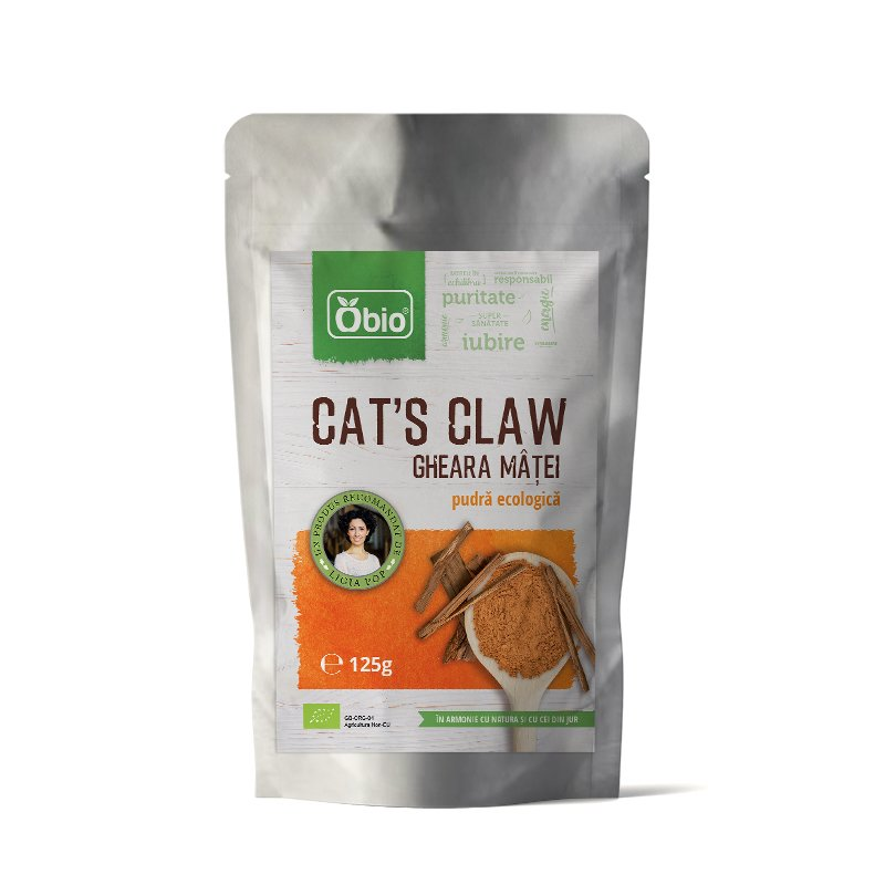 Cat s claw pulbere raw eco 125g