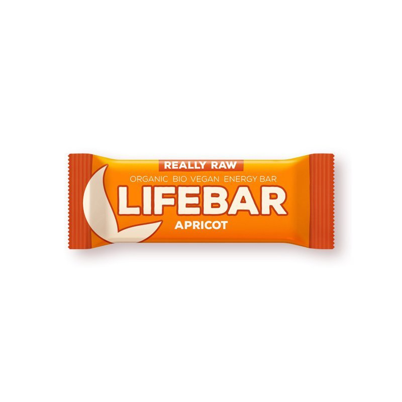 Lifebar baton cu caise raw eco 47g