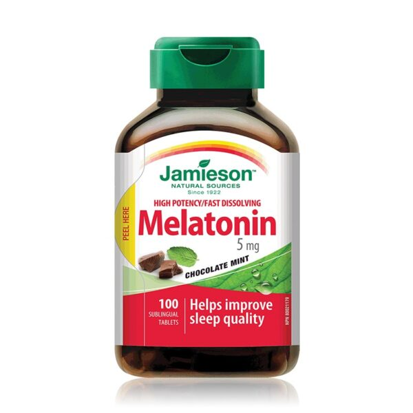 JAMIESON MELATONINA 5mg 100cpr GREEN NET