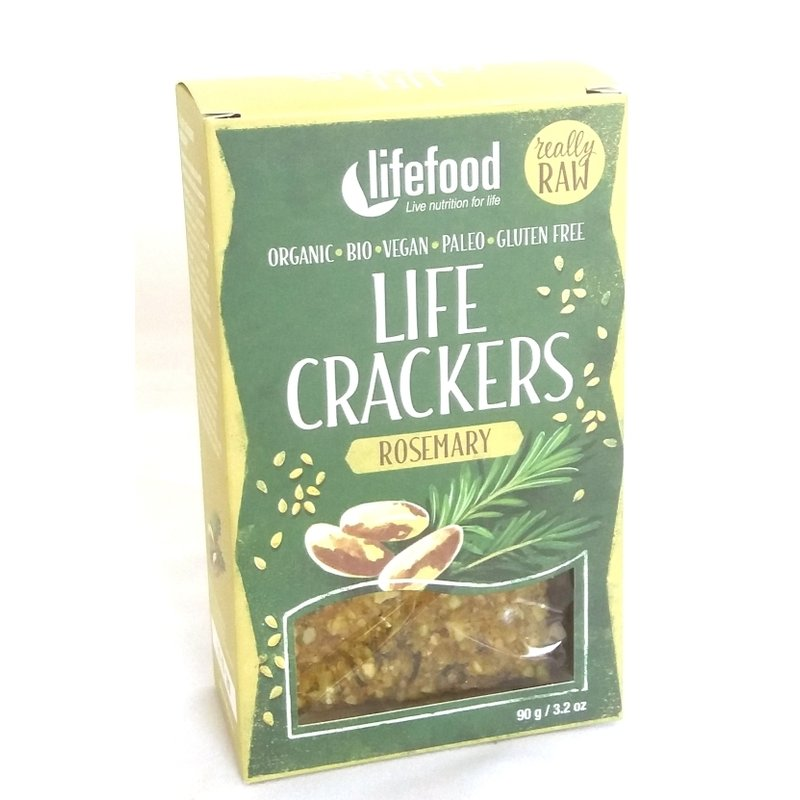 LIFECRACKERS cu rozmarin raw eco 90g