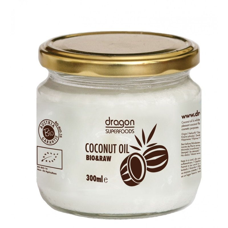 Ulei de cocos extravirgin raw eco 300ml