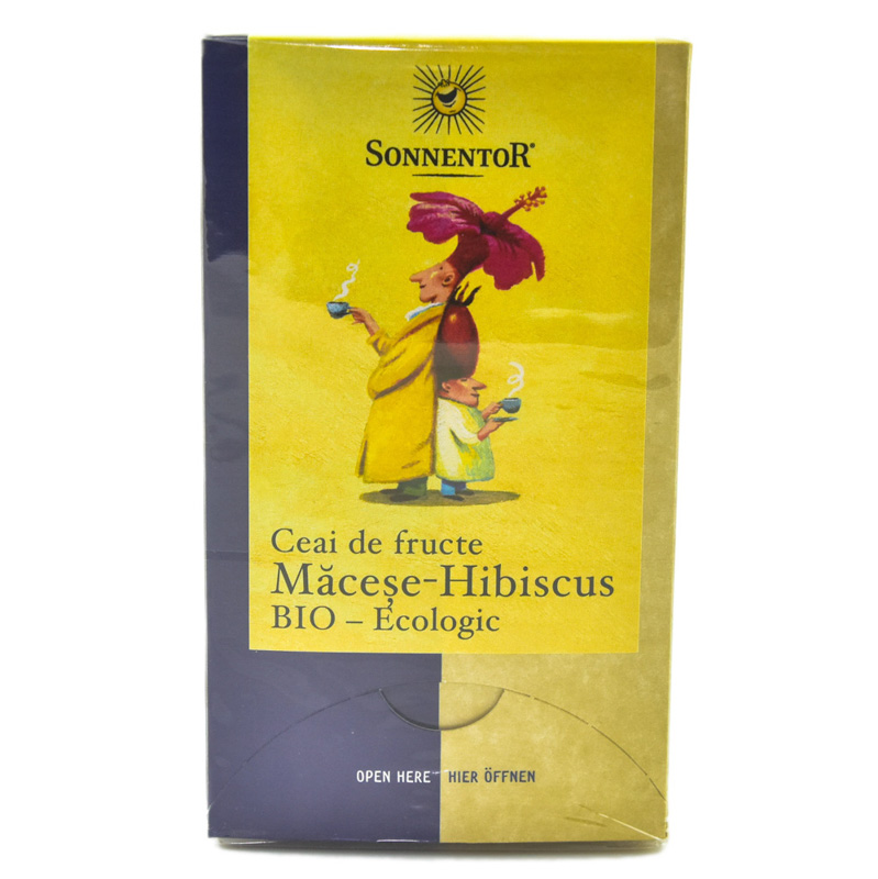 CEAI FRUCTE MACESE&HIBISCUS ECO 18dz SONNENTOR